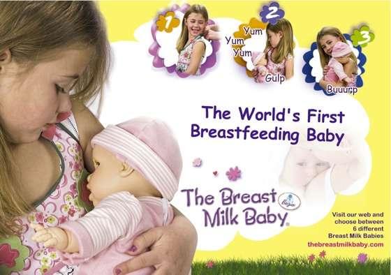 Breast-Feeding Dolls