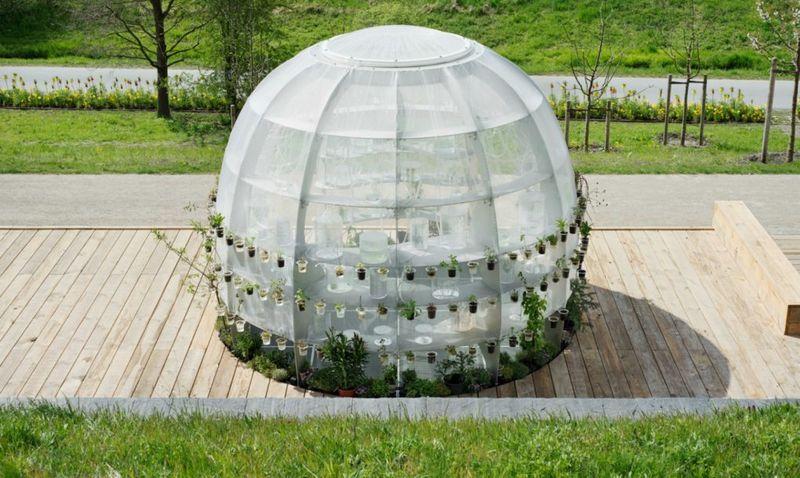 Public Medicinal Greenhouses