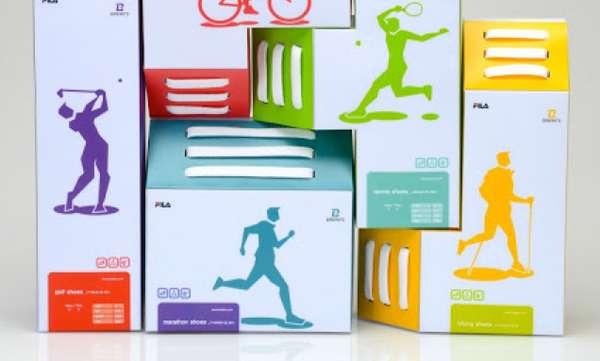 Tetris Sneaker Boxes