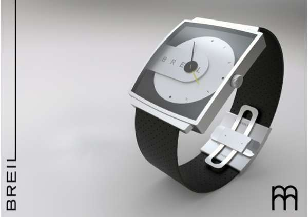 Contemporary Square Chronographs