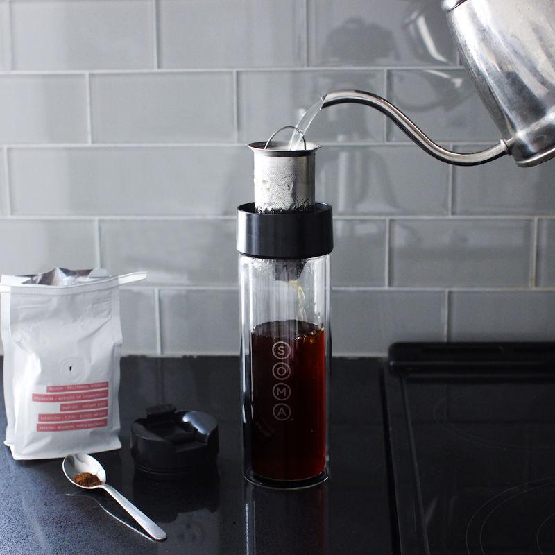 Portable Beverage-Brewing Bottles