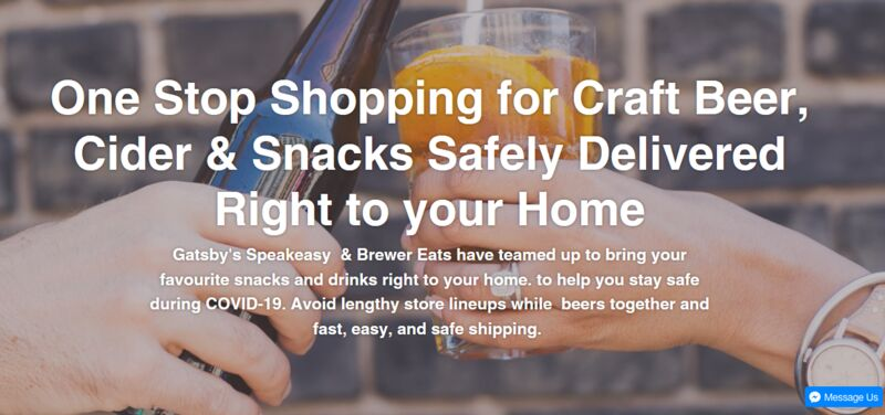 Beer-Centric Delivery Services