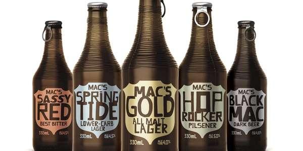 Bumpy Beer Branding