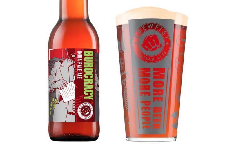 Brawny Beer Branding