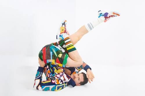 Multicolored Patchwork Joint Apparel