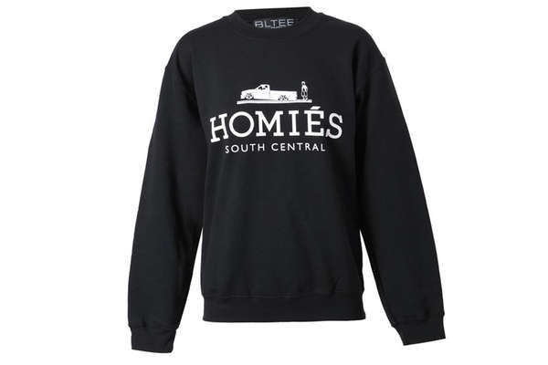 Well known Designer Imposter Fashions : Brian Lichtenberg 'Homies' Sweater YX56