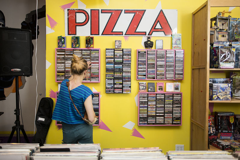 Nostalgia-Inducing Record Shops