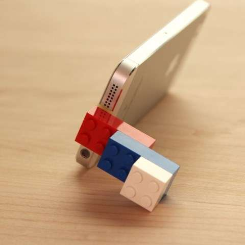 Toy Brick Smartphone Stands