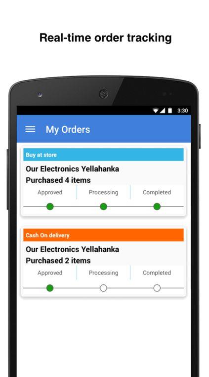 Convenient E-Retail Services