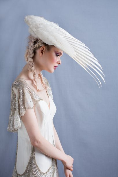 Taxidermied Bridal Accessories