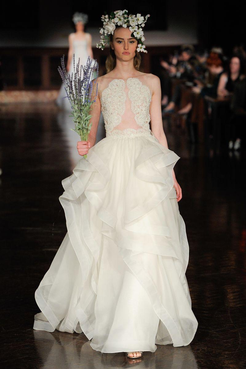 Flowery Bridal Couture Runways