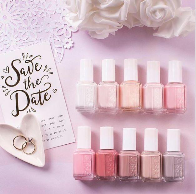 Bride-Inspired Nail Polishes