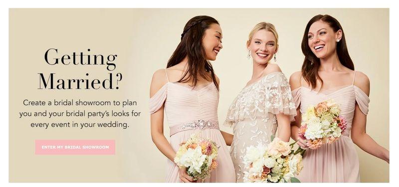 Virtual Bridal Showrooms