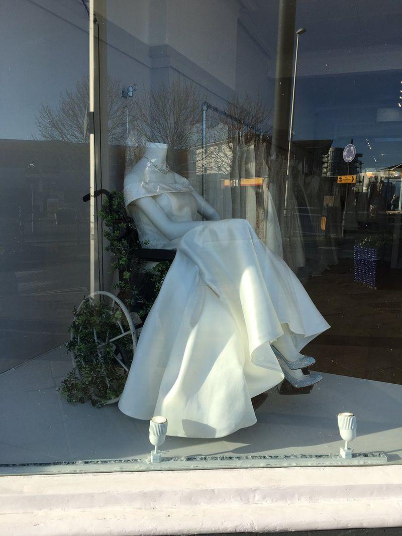 Inclusive Bridal Store Displays