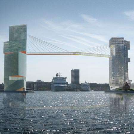 Handshake-Inspired Bridges