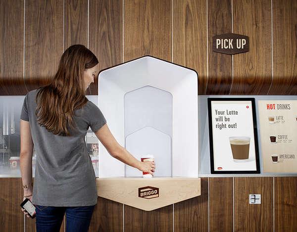 Robotic Coffee Shops