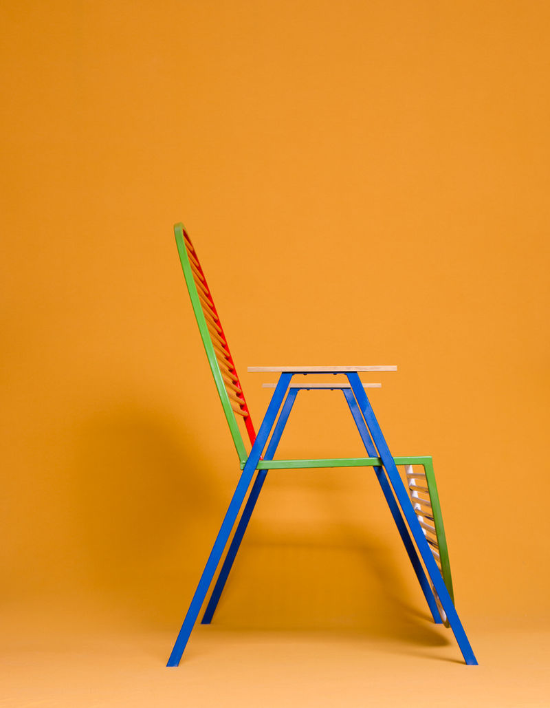Symbolic Circular Chairs