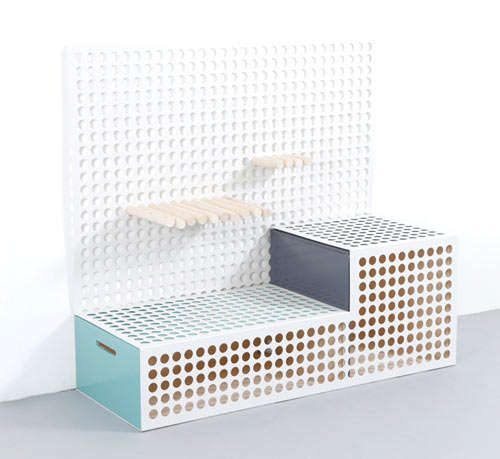 Perforated Entertainment Centers