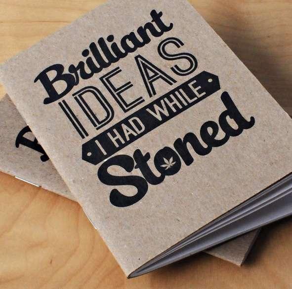 Creative Cannabis Notebooks