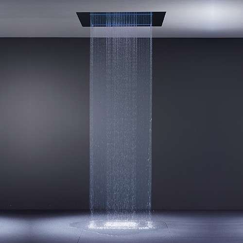 Rainsky waterfall shower the pleasure of rain in your Shower innovations