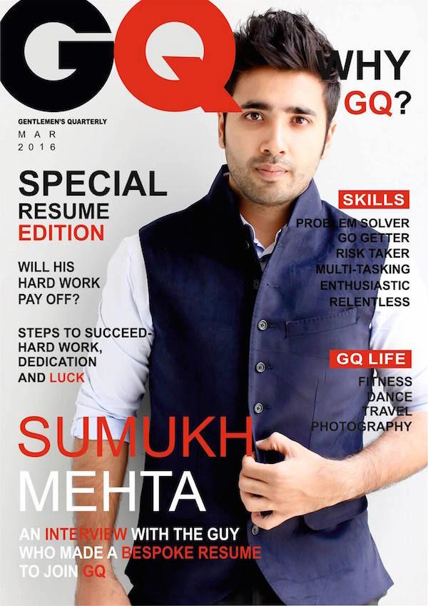 Men's Magazine Resumes