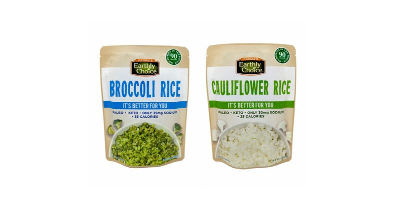 Microwaveable Vegetable Rice Pouches