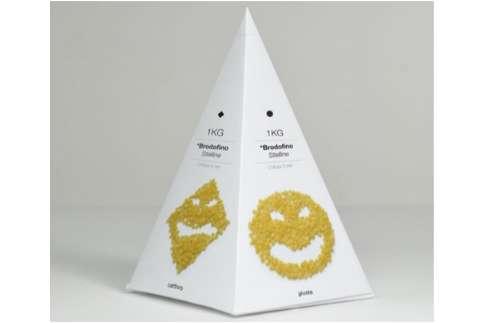 Pyramidal Pasta Branding