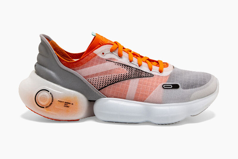Nitrogen-Infused Running Shoes