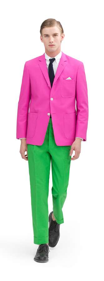 Candy-Hued Suiting