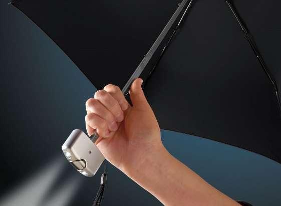 Illuminating Umbrellas