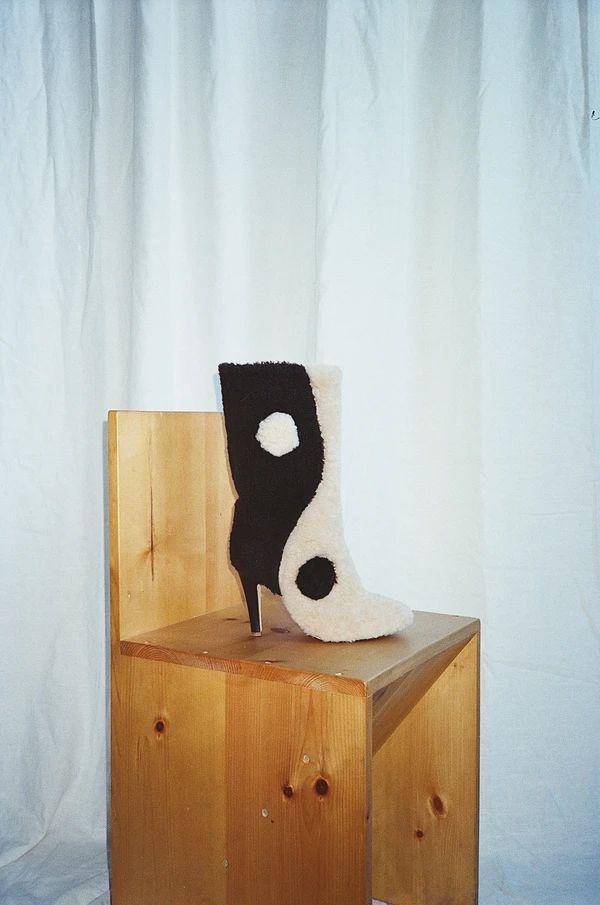 Dualism-Inspired Footwear