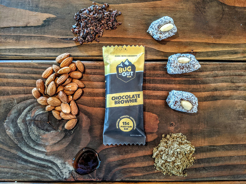 Cricket-Powered Protein Bars