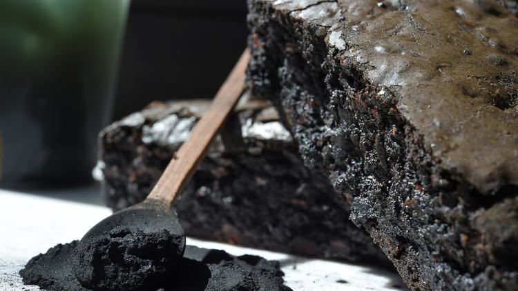 Detoxifying Charcoal Brownies