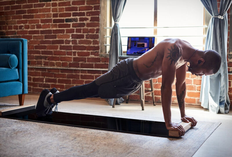 Sliding At-Home Fitness Boards