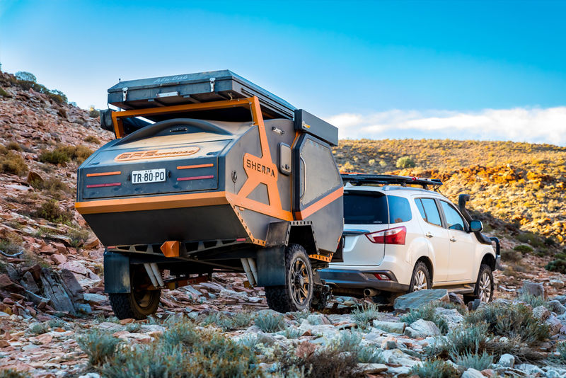 Rugged Terrain Camping Trailers