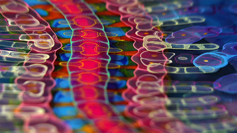 Psychedelic Resin Artworks
