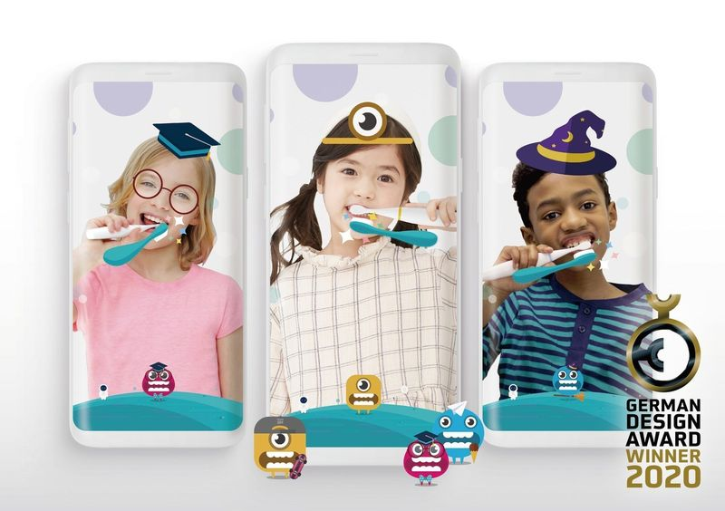 App-Connected AR Toothbrushes