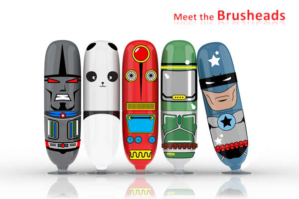 Hi-Tech Cartoonish Toothbrushes