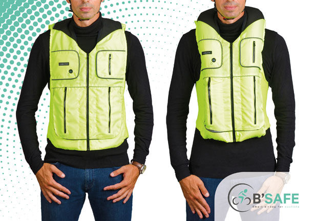 Wearable Cyclist Airbags