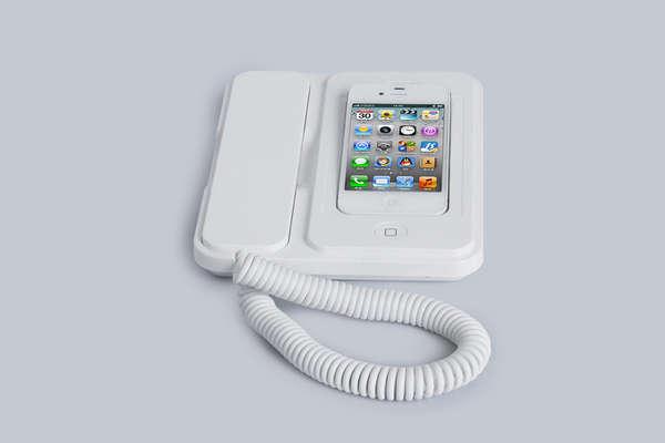 Landline Smartphone Cradles