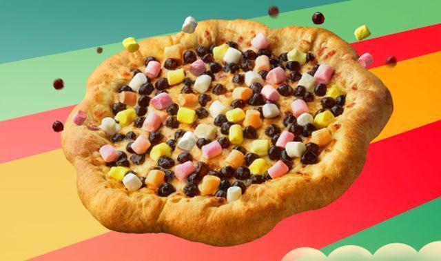 Bubble Tea-Themed Pizzas