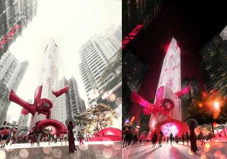 Futuristic Arterical Architecture