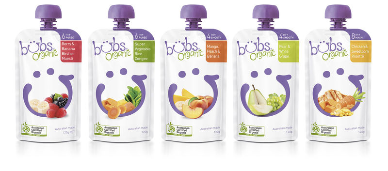 Modernized Baby Food Pouches