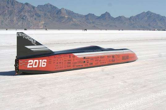 300mph Hydrogen Cars