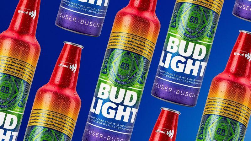 Pride-Celebrating Beer Bottles