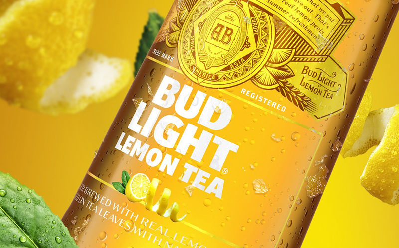 Refreshing Citrus Tea Beers