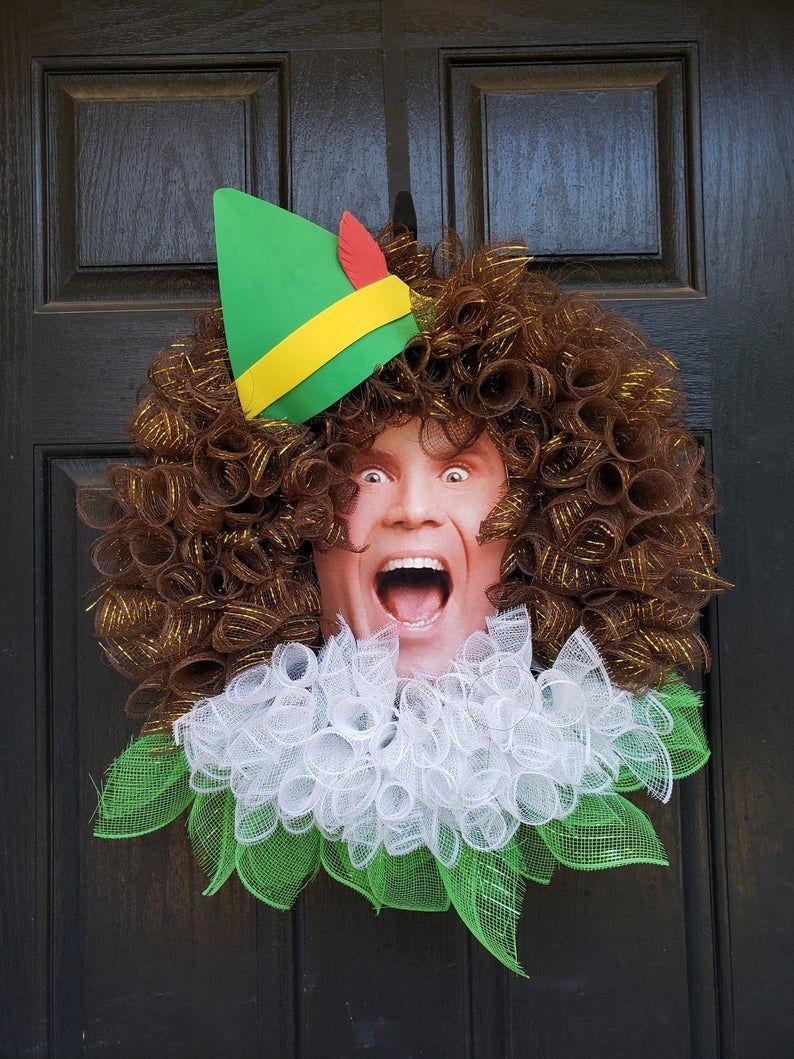 Iconic Elf-Themed Wreaths