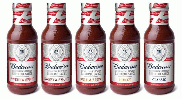 Premium Beer Brand Sauces