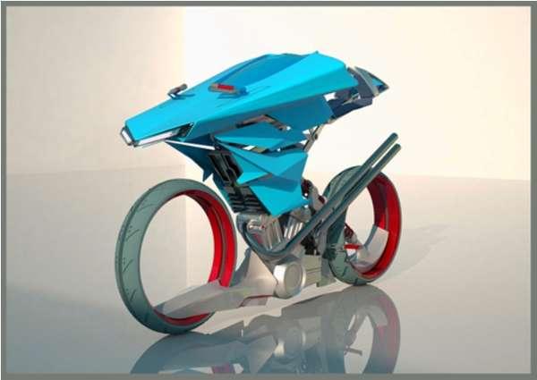 Sustainable Sci-Fi Bikes