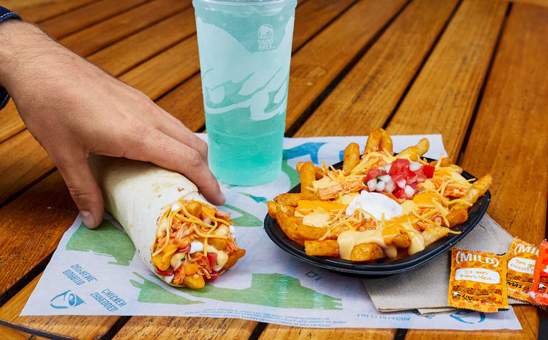 Buffalo Chicken-Topped Fries